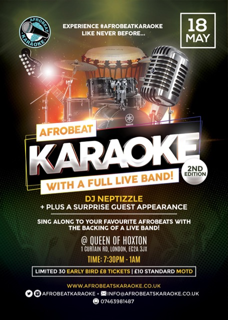 Afrobeat Karaoke Live - 2nd edition